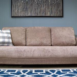 Moda Divan Automatic Sleeper Sofa Light Gray Chenille